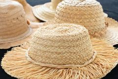 Sun hats Royalty Free Stock Photography