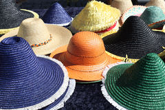 Sun hats Stock Photography