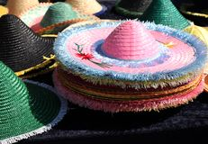 Sun hats Royalty Free Stock Image