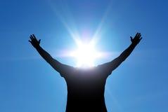 Sun head royalty free stock image