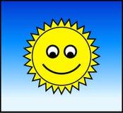 Sun heureux Photos libres de droits