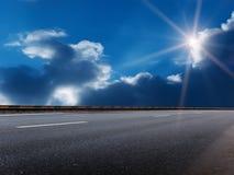 Sun-Himmelwolken Stockfotos