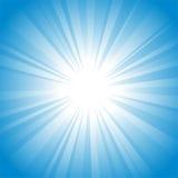 Sun-Hintergrund Lizenzfreie Stockfotografie