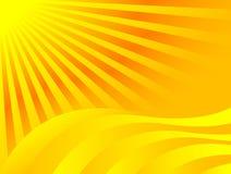 Sun-Hintergrund Stockbild