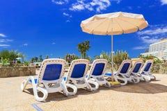 Sun holidays on Canary islands Royalty Free Stock Photo