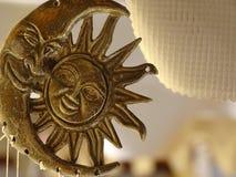Sun i księżyc Zdjęcia Stock