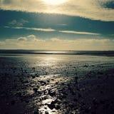 Sun i morze Fotografia Stock