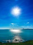Sun i plaża Zdjęcia Stock