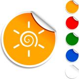Sun  icon. Stock Photography