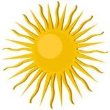 Sun icon Stock Image