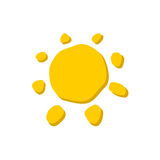Sun icon Royalty Free Stock Image