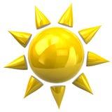 Sun icon Stock Photo