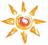 Sun  icons Royalty Free Stock Image