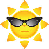 Sun Icons. Vector Illustration Stock Photos