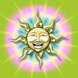 sun illustration Stock Photography