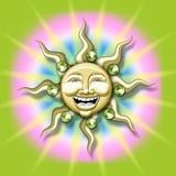 Sun illustration Stock Photography
