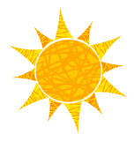 Sun illustration Royalty Free Stock Photography