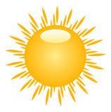 Sun illustration Stock Images