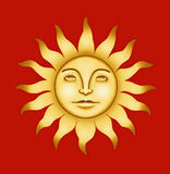 Sun Illustration Royalty Free Stock Photos