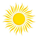 Sun illustration Stock Photo