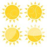 Sun illustration Royalty Free Stock Image