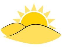 Sun illustration Stock Image