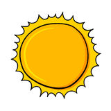 Sun illustration Stock Images