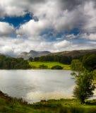 Loughrigg Tarn w Jeziornym okręgu Obrazy Royalty Free