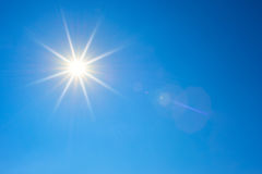 Free Sun In Blue Sky Stock Image - 97014731