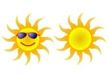 Sun inm shades Royalty Free Stock Photo