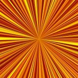 Sun irradia linhas fundo do vetor Fotos de Stock Royalty Free