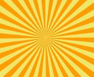 Sun irradia, papel viejo con las manchas - vector Fotografía de archivo libre de regalías