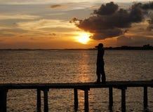 THE SUN JEST MÓJ drogą Zdjęcia Royalty Free