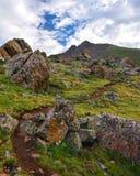 Sun Juan Mountain Trail Stock Images