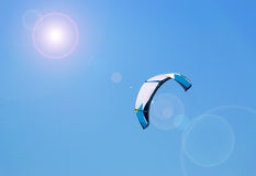 Sun and kite Royalty Free Stock Photos