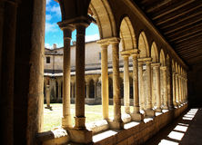 Sun-Kloster Lizenzfreies Stockfoto