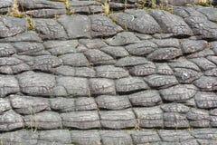 Sun knacken Felsen an Nationalpark Phu Hin Rongkla Stockbilder