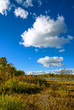The Sun Lake autumn scenery Royalty Free Stock Photography