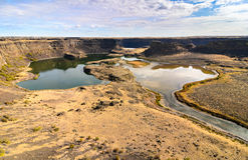 Sun Lakes-Dry Falls State Park Stock Image