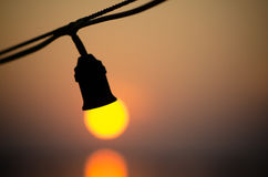 Sun lamp Royalty Free Stock Photo