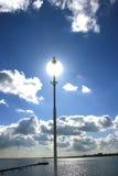 Sun in lanterna Fotografia Stock Libera da Diritti