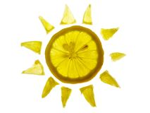 Sun Lemon Royalty Free Stock Images