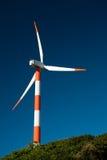 Sun-Leuchte auf der Windmühle Stockfotografie