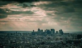 Sun-Licht der La-Verteidigung Lizenzfreie Stockfotografie