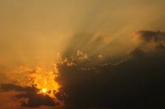 Sun-Lichtstrahl Stockbilder