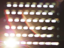 Sun lights. Sun lighst on a windows Stock Photo