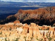 Sun-Lit-Unglücksboten in Bryce Canyon Utah Lizenzfreies Stockbild