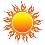 Sun logo Stock Photo