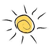 Sun logo Royalty Free Stock Image