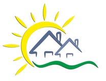 Sun-Logo Stockbilder